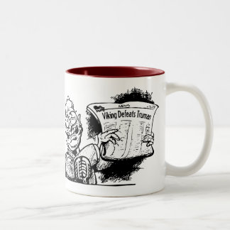 Viking Defeats Truman Mug