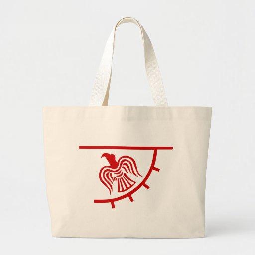 Viking Eagle Banner Canvas Bag