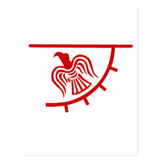 Viking Eagle Banner Postcard