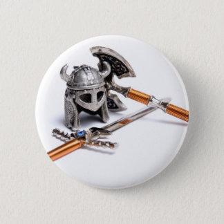 Viking equipment 2 inch round button