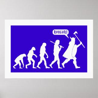Viking Evolution Poster