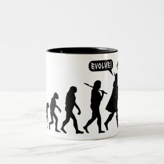 Viking Evolution Two-Tone Coffee Mug