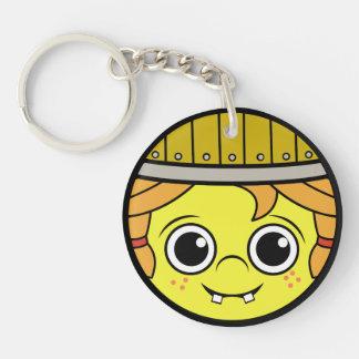 Viking Face Keychain