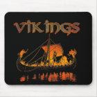Viking Funeral Mousepad
