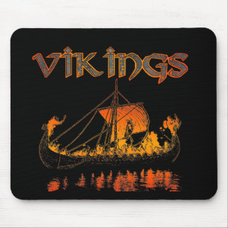 Viking Funeral Mousepad