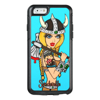 Viking Girl, by Skindella iPhone6 Otter Box Case