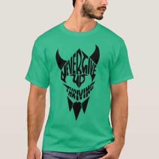 Viking gym motivational t shirt