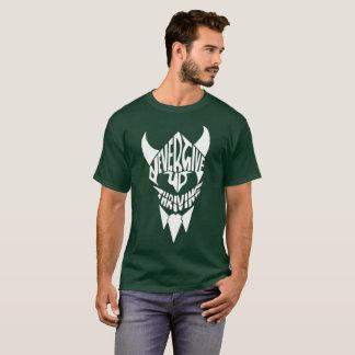 Viking gym motivational t shirt