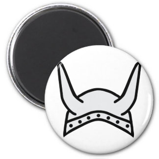 viking helmet icon magnet
