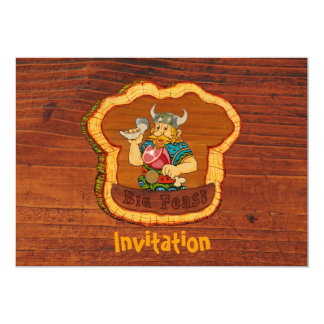 Viking Invitation Postcard