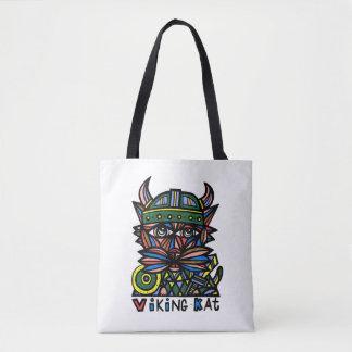 Viking Kat BuddaKats All- Over Tote Bag