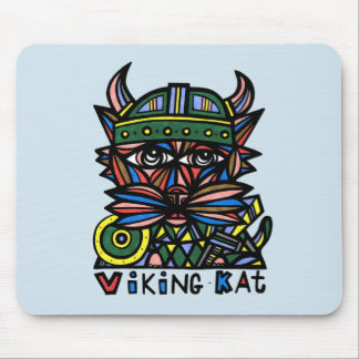 """Viking Kat"" Mousepad"