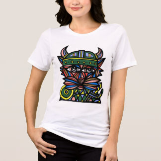 """Viking Kat"" Women's Relaxed Fit T-Shirt"