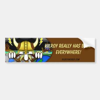 Viking Kilroy Bumper Sticker
