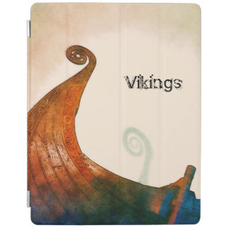 Viking Longship Tail iPad Cover