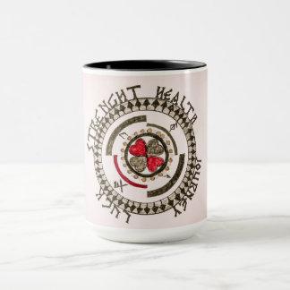Viking Mandala Charm Mug
