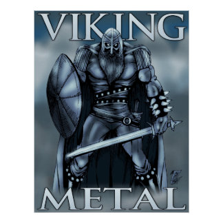 Viking Metal Poster