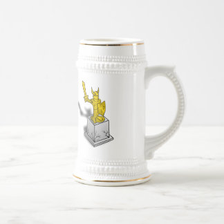 Viking Monument Beer Stein