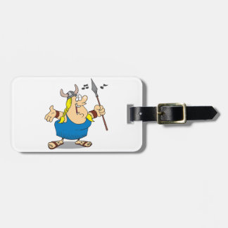 Viking Opera Singer Luggage Tags