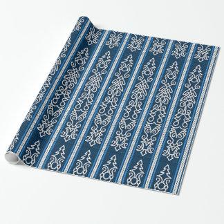 Viking Pattern Blue