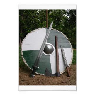 Viking Photo Print