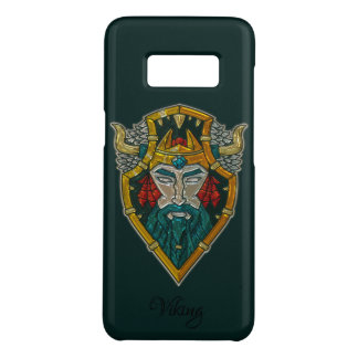 Viking Portrait Metallic Look Case-Mate Samsung Galaxy S8 Case