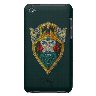 Viking Portrait Metallic Look iPod Touch Case