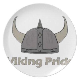 Viking Pride Plate