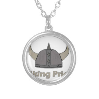 Viking Pride Silver Plated Necklace