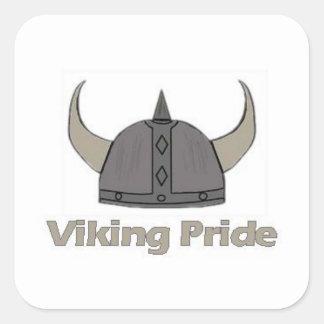 Viking Pride Square Sticker
