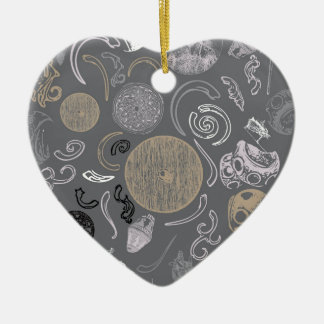 Viking Primitive Ceramic Ornament