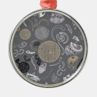 Viking Primitive Metal Ornament