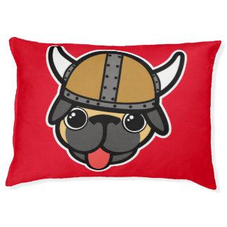 Viking Pug Large Dog Bed