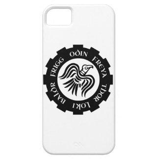 Viking Raven Banner iPhone 5 Cases