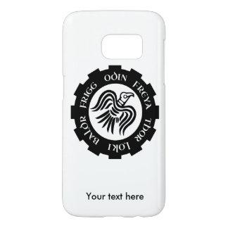 Viking Raven Banner Odin Thor Frigg Samsung Galaxy S7 Case