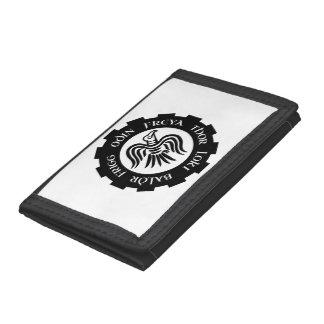 Viking Raven Banner Tri-fold Wallet