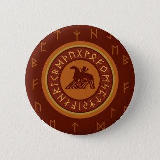Viking Runes 2 Inch Round Button