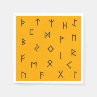 Viking Runes Napkin