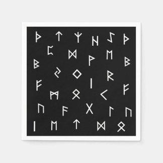 Viking Runes Paper Napkins
