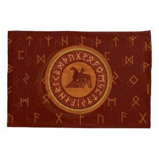 Viking Runes Pillowcase