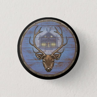 Viking Shield Button - Eikþyrnir