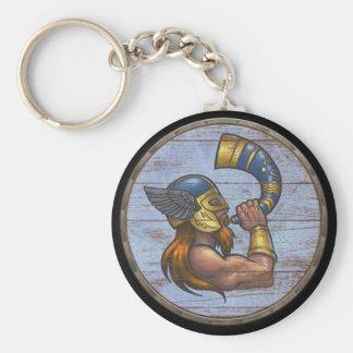 Viking Shield Keychain - Heimdallr