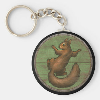 Viking Shield Keychain - Ratatoskr