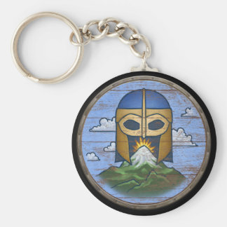 Viking Shield Keychain - Valhalla