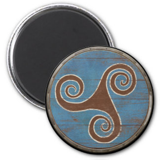 Viking Shield Magnet - Triskele