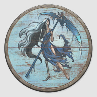 Viking Shield Sticker - Hel
