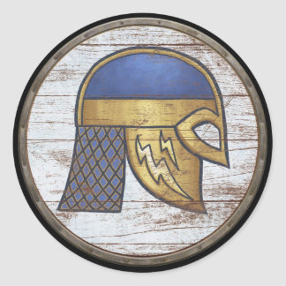 Viking Shield Sticker - Helm