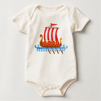 Viking Ship Baby Bodysuit