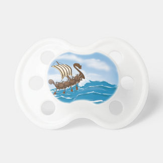 Viking Ship Baby Pacifiers