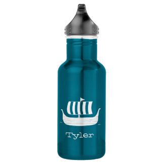 Viking ship/longboat custom waterbottle 532 ml water bottle